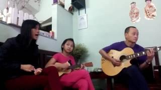 Duyên Phận (Guitar - Ukulele và Lược) Ban Nhạc Gia Đình.. K' K'