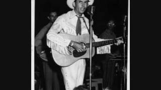 Watch Hank Williams Honey Do You Love Me Huh video