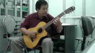 Độc tấu Guitar-Bài ca hy vọng-Guitarist Quốc Triệu
