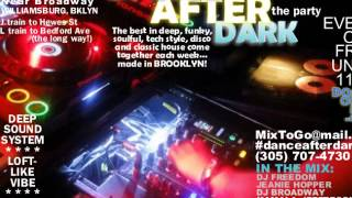"DJ Freedom - ""Dance After Dark 34b: Smooth House Grooves"""