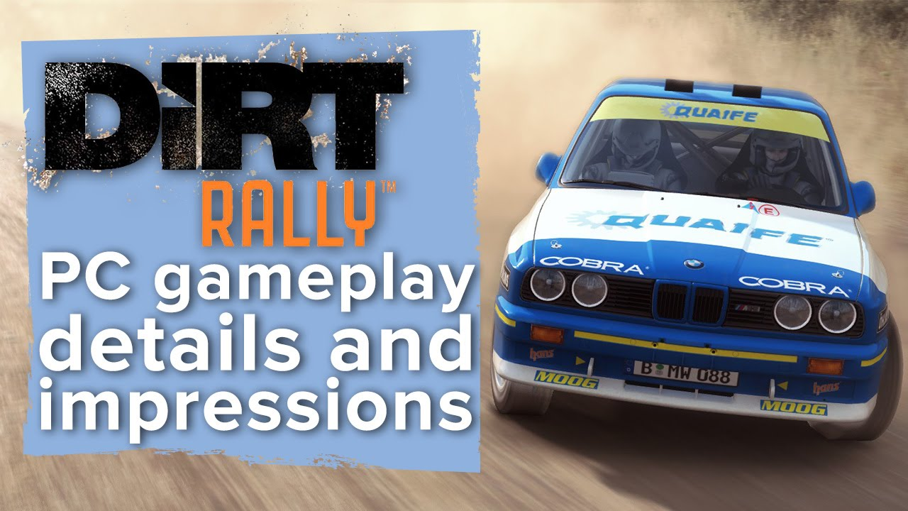 dirt rally pc gameplay details and first impressions. Black Bedroom Furniture Sets. Home Design Ideas