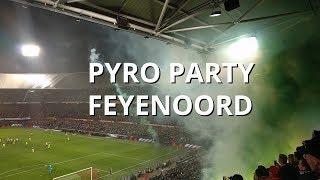 Sfeer kwartfinale Feyenoord - PSV (Beker 31-01-2018)