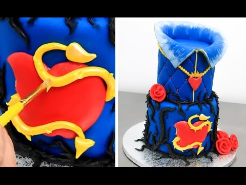 Disney Evie Cake How To Make By Cakes Stepbystep Youtube