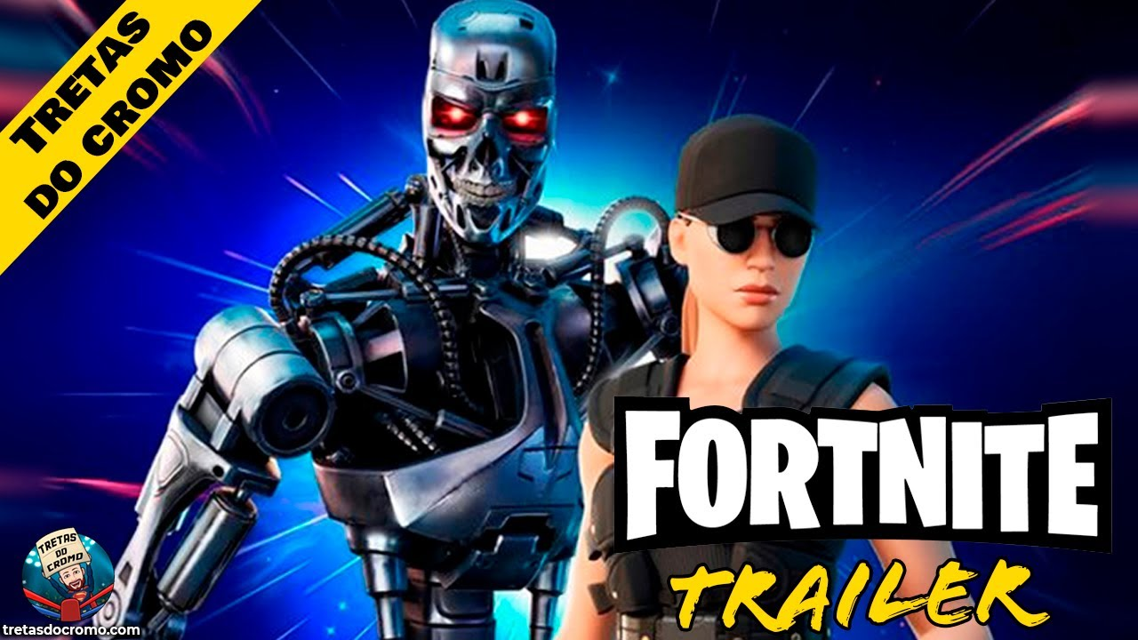 Fortnite - Terminator (T-800) & Sarah Connor Trailer