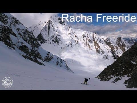 Skitour, Freeride project with Polish guys in Higher Racha, Georgia, Caucasus.