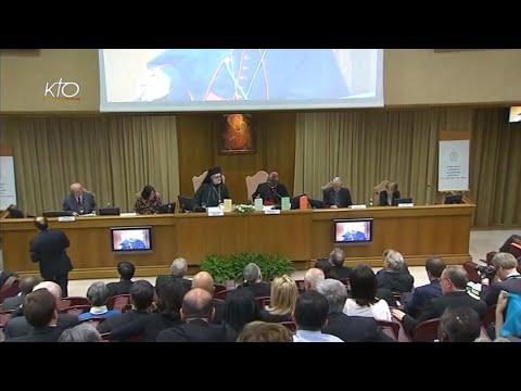 Conférence de presse - Encyclique du Pape François Laudato si'