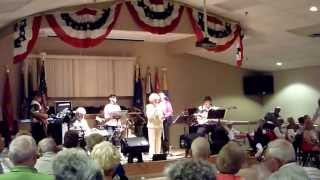 """Save Your Kisses For Me"" - Margo Smith & Cammeron Company Band - Villages American Legion (7/6/13)"