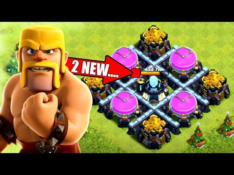 UNLOCKING 2 NEW TROOP LEVELS IN CLASH OF CLANS!! POST UPDATE!
