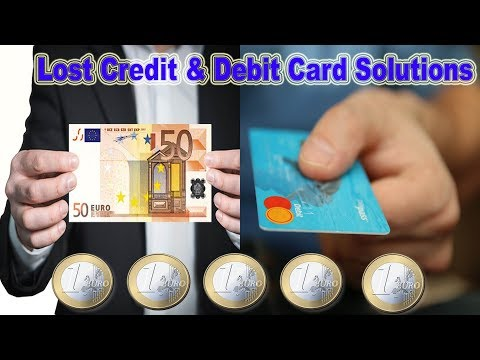 What happens if Debit & Credit Card is lost | Without Travelling Abroad Countries Part 1
