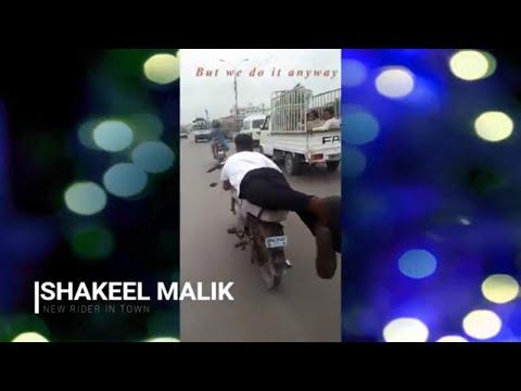 Dangerous Bike Stunts 2017 | Karachi Pakistan | NEW RIDER IN TOWN