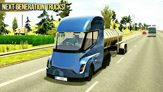 Truck Simulator 2018:Europe. Android Game Play..