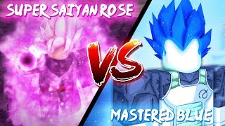 [NUEVO] MASTERED SUPER SAIYAN BLUE VS SUPER SAIYAN ROSE Stand final de Dragon Ball Z ? ROBLOX