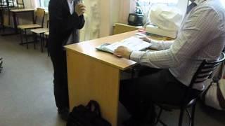 Двойка на уроке.