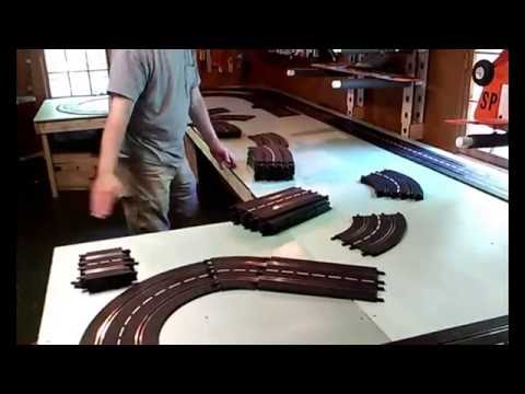 Custom Slot Car Track :  Chemin de Roulement de Candela (Part 1)