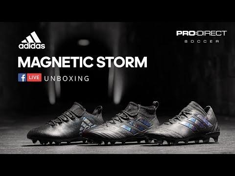adidas ACE 17+ PURECONTROL FG Magnetic Storm Pack schwarz