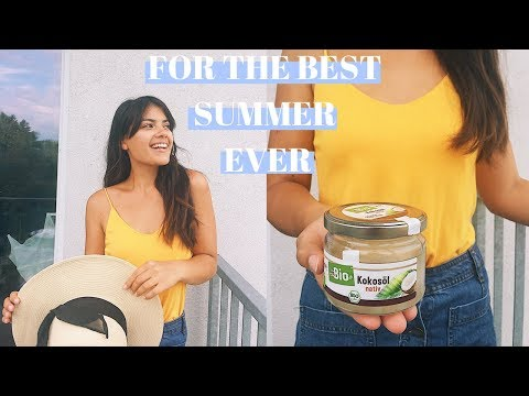 5 SUMMER MUST HAVES!  | Claudia Horne