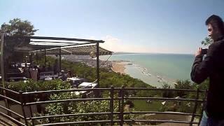 Panoramica sul mare Gabicce monte