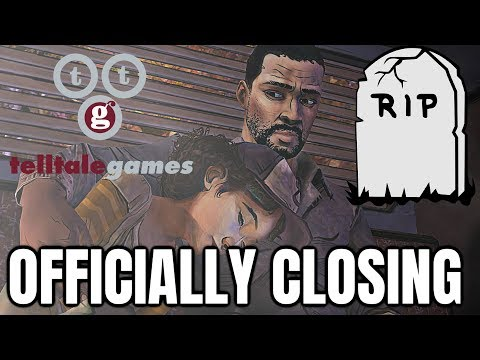 Telltale Games Officially Closing!! - Games Being Removed from Steam