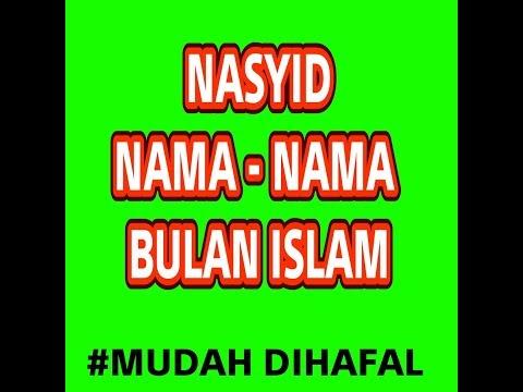 NASYID BULAN - BULAN ISLAM, MUDAH DIHAFAL