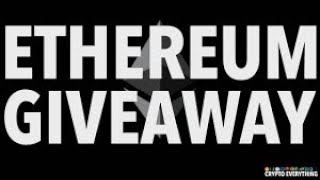 FREE MONTHLY ETHEREUM GIVEAWAY - WATCH FOR INFO
