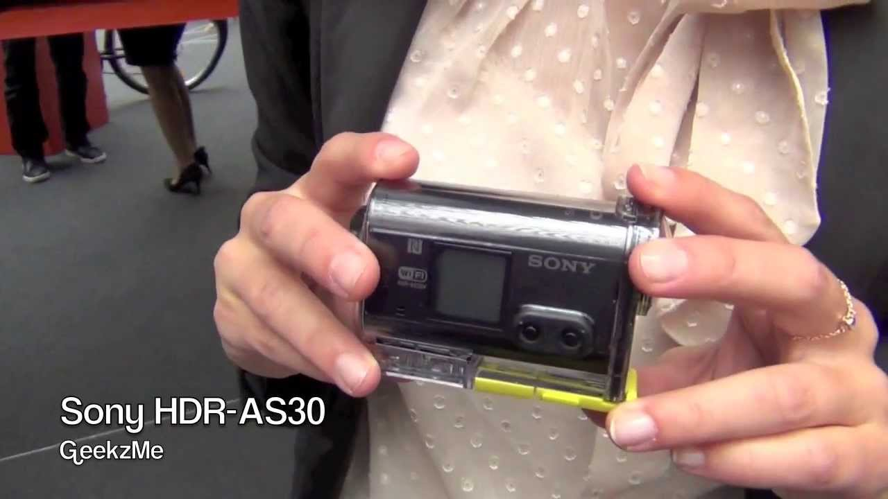 Camera Sony As30 Action Cam sony action cam hdr as30 fr youtube