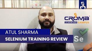 Croma Campus Pvt. Ltd. placed Atul Sharma at Selenium in Manikaran Electronics