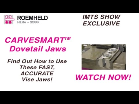 Carvesmart At IMTS 2016, How To Use Dovetail Vise Jaws