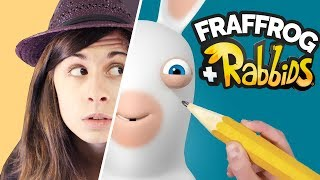 Come DISEGNARCI in versione RABBIDS? 🐸 Fraffrog + Soliani Donkey Kong Adventure