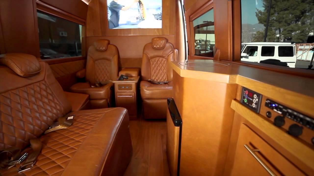 West Coast Customs Edition Sprinter Van Youtube