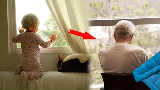 Man accommodated his elderly father in his old closet. His son taught the man a good life lesson
