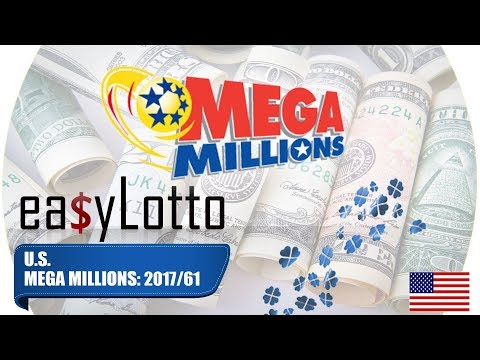 MEGA MILLIONS numbers 1 Aug 2017