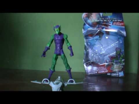 how to make a paper green goblin glider