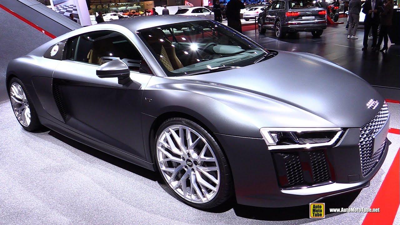 2016 Audi R8 V10 Exterior And Interior Walkaround 2017 Geneva Motor Show You
