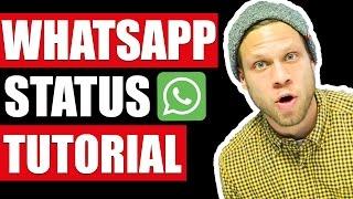 🚀 WhatsApp Status - Tutorial 🚀 | #FragDenDan(Seit kurzem ist die neue Status-Funktion von WhatsApp verfügbar. Ich erkläre dir, wie das neue Feature - das Status Update - funktioniert und gebe dir Tipps wie ..., 2017-02-22T18:01:41.000Z)
