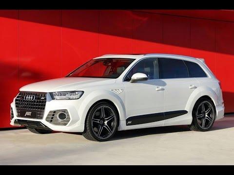 """ABT QS7"" custom ""Audi Q7 II"" by 2016 ABT Sportsline - YouTube"
