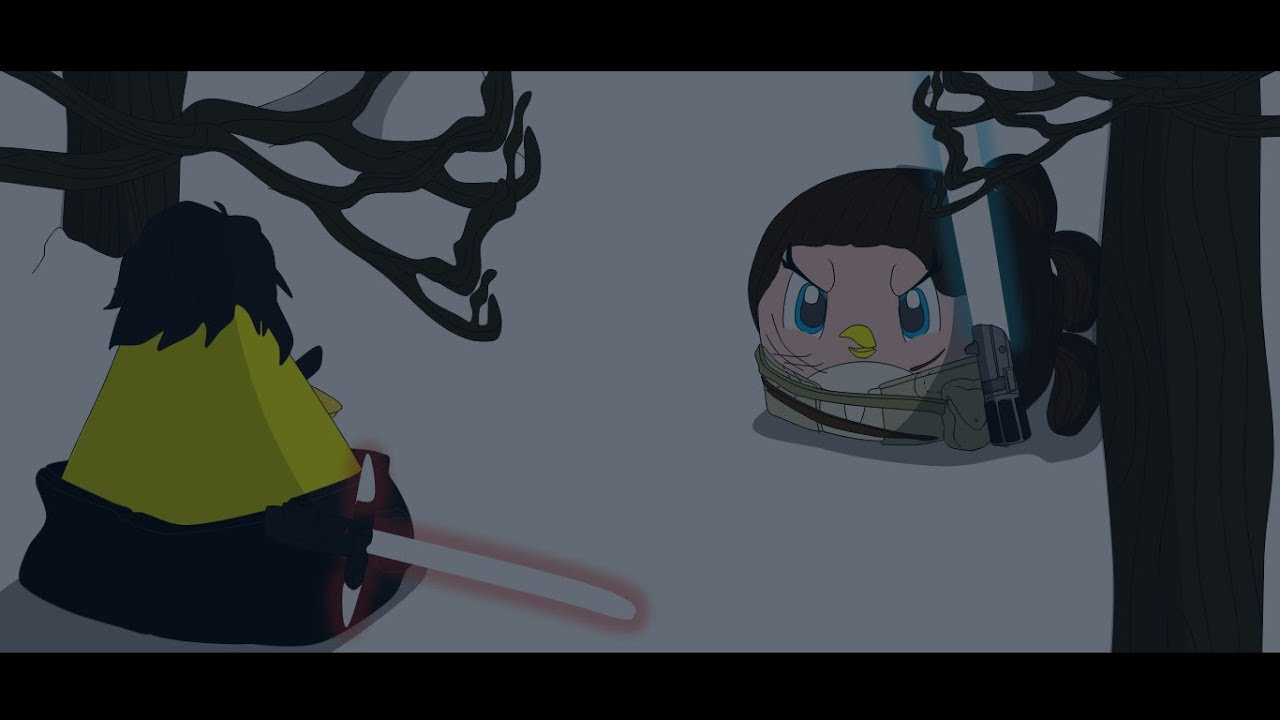 Angry Birds Star Wars The Force Awakens Ending Rey And Finn Vs Kylo Ren Youtube