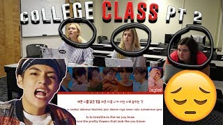 COLLEGE CLASS REACTS TO BTS (MIC DROP, THE TRUTH UNTOLD) | NON KPOP FANS REACT