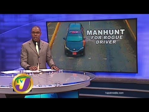 TVJ News: Manhunt for Rogue Taxi Driver - January 23 2020