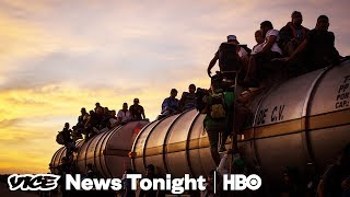 Walking to America with the Migrant Caravan | VICE News Tonight Special Report (HBO)