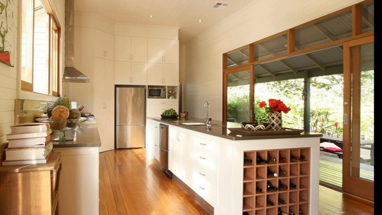 Small Kitchen Island With Wine Storage Youtube