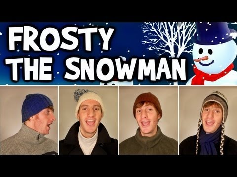 Frosty the Snowman - A Cappella Barbershop Quartet - Julien Neel
