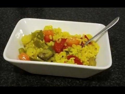 Arroz con verduras youtube - Arroz con pescado y verduras ...