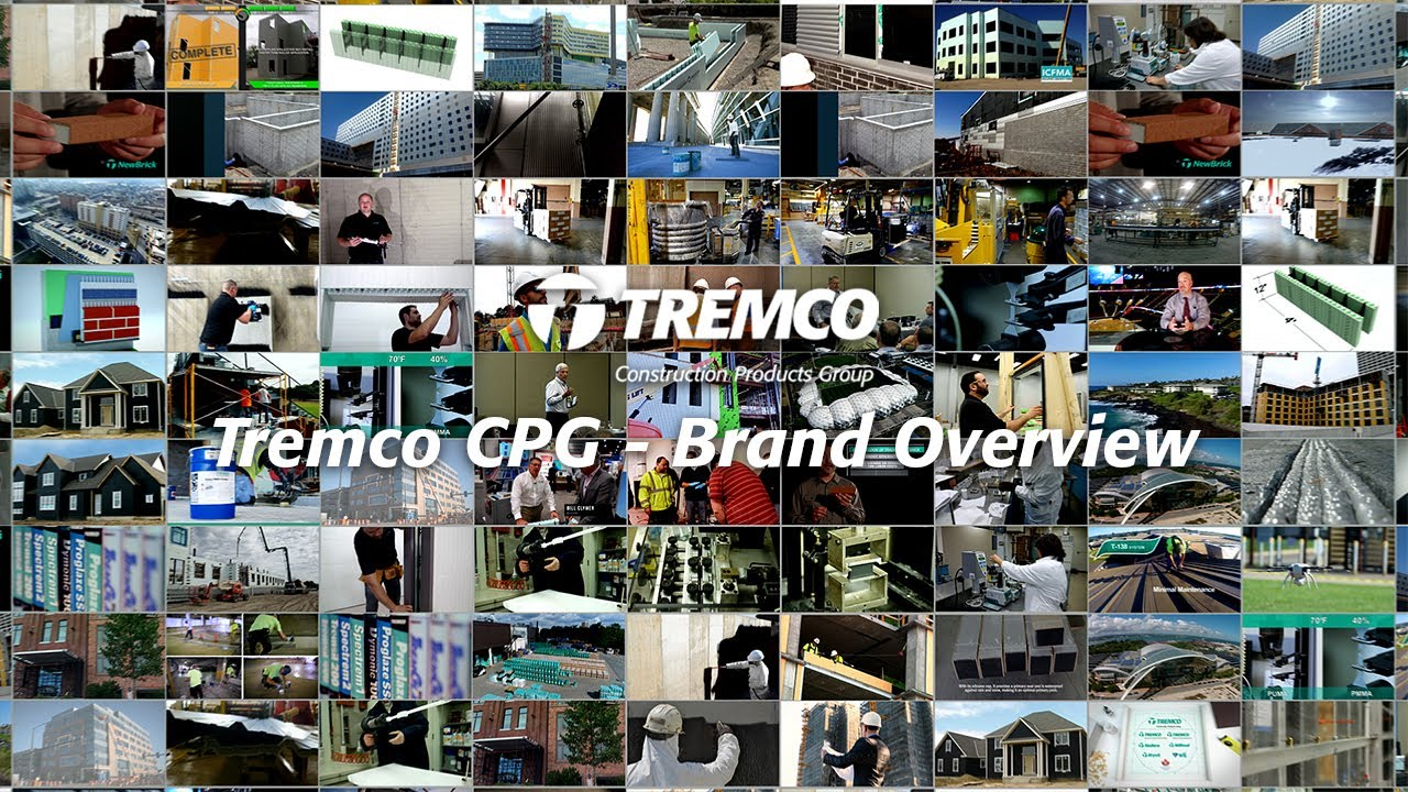 Tremco Construction Products Group - Brand Overview