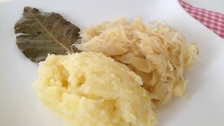 Sauerkraut zubereiten - Sauerkraut kochen mal anders mit einfachKochen