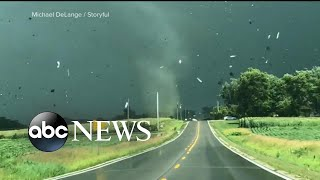 Iowa cities face massive cleanup after twisters touch down
