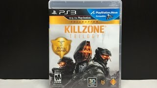 Killzone Trilogy Collection (PS3 BLU RAY) Unboxing