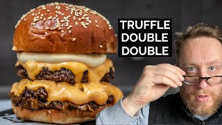 Truffle Double Double Cheese Burger from Andy Taylor at Le Bun  |  Food Busker