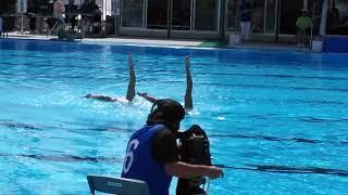 躍動美 第72回国民体育大会 水泳競技 シンクロその2
