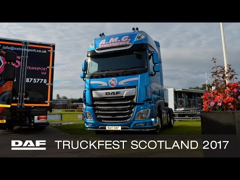 DAF Trucks UK | Truckfest Scotland 2017 | Show Highlights from the DAF Stand