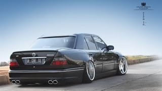 Tuning Mercedes Benz W124 Stance Works